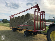 Krone straw carrier flatbed trailer