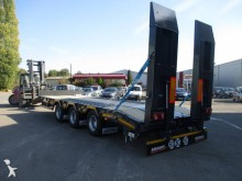 Louault heavy equipment transport trailer