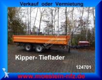 Obermaier 14 T Tandemkipper Tieflader trailer