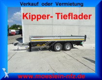 reboque Moeslein Tandem Kipper Tieflader, Wenig Benutzt