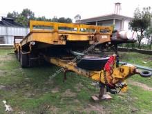 Fruehauf heavy equipment transport trailer