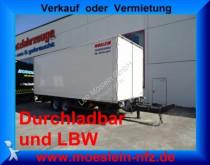 Moeslein Tandemkoffer, Ladebordwand 1,5t, Durchladbar trailer