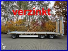 Moeslein 3 Achs Tieflader, Verbreiterung, hydr. Rampen, V trailer