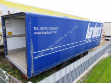 Ackermann box trailer