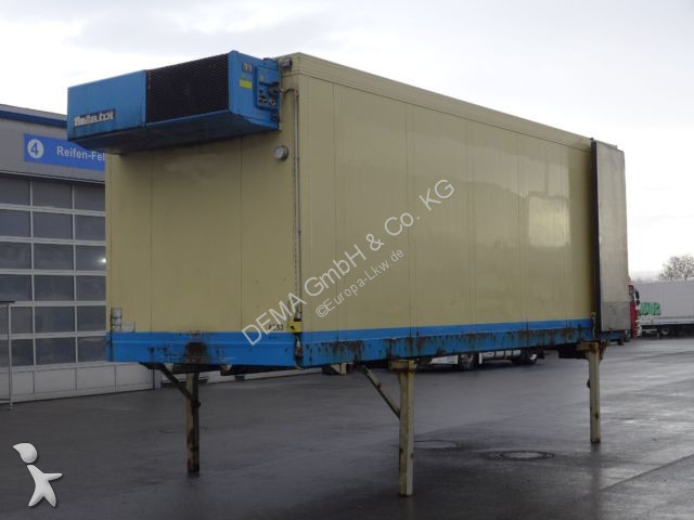 Remorque Schmitz Cargobull WE-Brücke*156616*Frigoblock*Portal*Doppelstock*