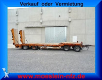 Goldhofer heavy equipment transport trailer