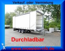 Möslein Tandem Schiebeplanenanhänger zum Durchladen trailer