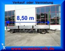 remorque Schmitz Cargobull 2 Achs Jumbo Anhänger, 8,50 m Ladefläche