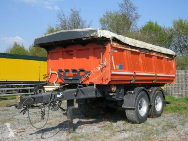 Meiller Tandemkippanhänger MZDA 18/22 Kippanhänger Bordm trailer