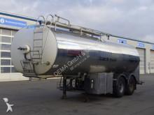 gebrauchter Anhänger Tankfahrzeug Lebensmittel
