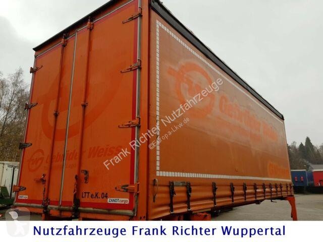 Remorque nc Zandt  Wechselbrücke,Bj2011Edscha Curtain Sider