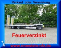 remorque Möslein 3 Achs Tieflader Neufahrzeug, Feuerverzinkt