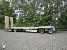 remolque Möslein 4 Achs Tieflader Anhänger, 2 teiligen hydr. Ram