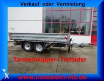 remolque nc Tandemkipper Tieflader, Breitbereifung