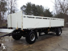 Schwarzmüller PA Pritschenanhänger T 202 Baustoffanhänger trailer