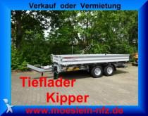 remolque Möslein 13 t Tandem 3 Seitenkipper Tieflader