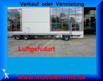 remolque Möslein 3 Achs Plato Anhänger, 8,6 m Ladefläche, Neufah
