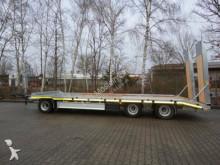 Möslein 3 Achs Tieflader, 9 m lang, Verzinkt, Luftgefed trailer