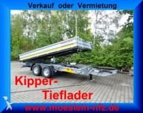Möslein 13 t Tandem 3 Seitenkipper Tieflader Neufahrze trailer