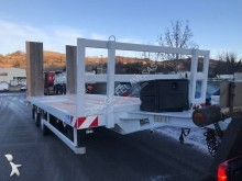 Leveques heavy equipment transport trailer