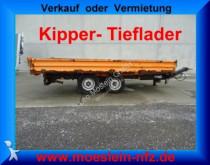 przyczepa Müller-Mitteltal Tandemkipper Tieflader