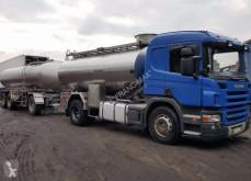 rimorchio Scania R 420 MAGYAR DO MLEKA 12 000 L + PRZYCZEPA 16 000 L