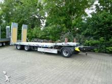 Möslein 3 Achs Tieflader Verbreiterung hydr. Rampen Verz trailer