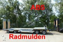 przyczepa Möslein 4 Achs Tieflader mit Radmulden, ABS