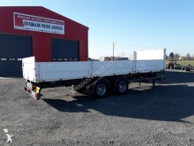 Trouillet dropside flatbed trailer