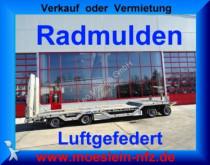 remolque Müller-Mitteltal 4 Achs Tieflader mit Radmulden, ABS