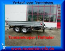 n/a Tandemkipper Tieflader, Breitbereifung trailer