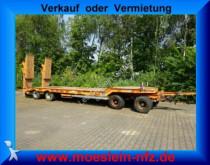 trasporto macchinari Müller-Mitteltal 4 Achs Tieflader Anhänger