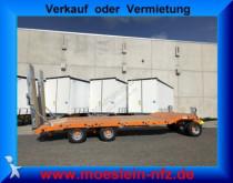 Möslein 3 Achs Tieflader Neufahrzeug trailer