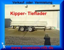remolque Möslein 19 t Tandemkipper Tieflader, Wenig Benutzt