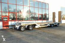 Möslein 4 Achs Tieflader Anhänger mit Radmulden trailer