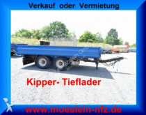 remolque Müller-Mitteltal 13,5 t Tandemkipper Tieflader