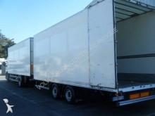przyczepa furgon furgon drewniane ściany używana