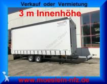 remolque Möslein TP 11-3 Tandem- Schiebeplanenanhänger 3 m Innenh