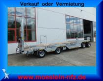 rimorchio Möslein T4L-R VB H1 4 Achs Tieflader mit Radmulden, Luft