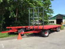 przyczepa nc KRAMER - platte wagen 8 of 10 meter 20 of 30 ton lucht of hydraulische be neuf