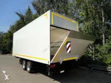 Möslein TK0105D-L Weiß Tandemkoffer, Ladebordwand 1,5t, trailer