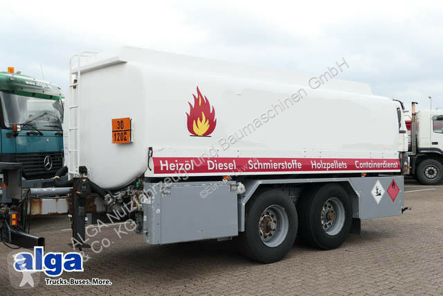 Ver as fotos Reboque nc 18 to., Tandem, 19.050 Liter, 3 Kammern, Alu