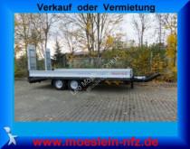 remorque Möslein TTT 11- 6,2 Silber Neuer Tandemtieflader