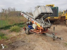 Bocker telescopic aerial platform trailer