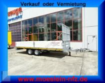 Möslein THT 11- G 6,2 Gitter Tandem- Pritschenanhänger m trailer