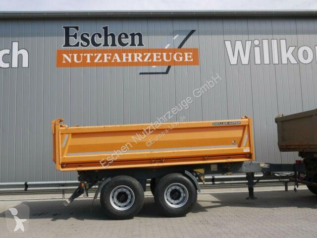 Meiller MZDA 18/21, 9 m³, Luft, BPW  trailer