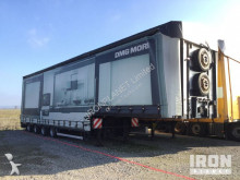 přívěs Meusburger 4axle curtain sided trailer