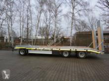 transport utilaje Möslein T 3-9,20 F 3 Achs Tieflader- Anhänger mit gerade