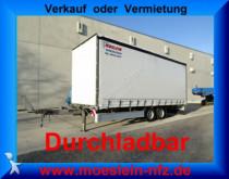 remorque Möslein TP 11-D Schwebheim Tandem- Schiebeplanenanhänger