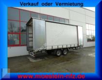 remorque Möslein TP 11 Schwebheim Tandem- Schiebeplanenanhänger z